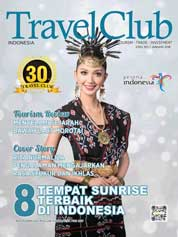Cover Majalah Travel Club ED 307 Januari 2018
