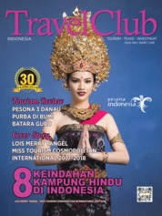 Cover Majalah Travel Club ED 309 Maret 2018