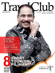 Cover Majalah Travel Club ED 315 September 2018