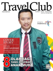 Cover Majalah Travel Club ED 316 Oktober 2018