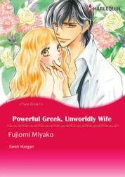 Cover Powerful Greek, Unworldly Wife oleh Sarah Morgan