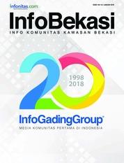 Cover Majalah InfoBekasi Januari 2018