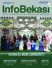 InfoBekasi Magazine Cover April 2018