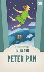 English Classics: Peter Pan by J.M. Barrie Cover