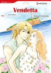 Cover VENDETTA oleh Susan Napier