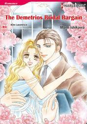 Cover THE DEMETRIOS BRIDAL BARGAIN oleh Kim Lawrence