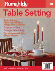 Cover Seri Rumah Ide - Table Setting oleh Imelda Akmal Architecture Writer Studio