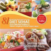 81 Diet Sehat Golongan Darah O by Cover