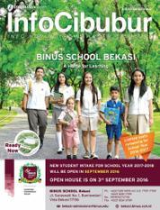 InfoCibubur Magazine Cover July 2016