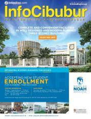 InfoCibubur Magazine Cover October 2016