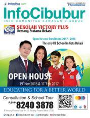 InfoCibubur Magazine Cover November 2016