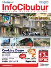 InfoCibubur Magazine Cover February 2017
