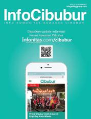 InfoCibubur Magazine Cover November 2017