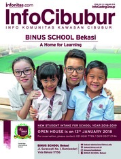 InfoCibubur Magazine Cover January 2018