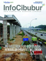 InfoCibubur Magazine Cover March 2018