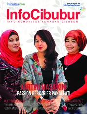 Cover Majalah InfoCibubur April 2018