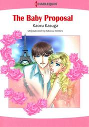The Baby Proposal by Rebecca Winters Cover