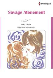 SAVAGE ATONEMENT by Penny Jordan Cover