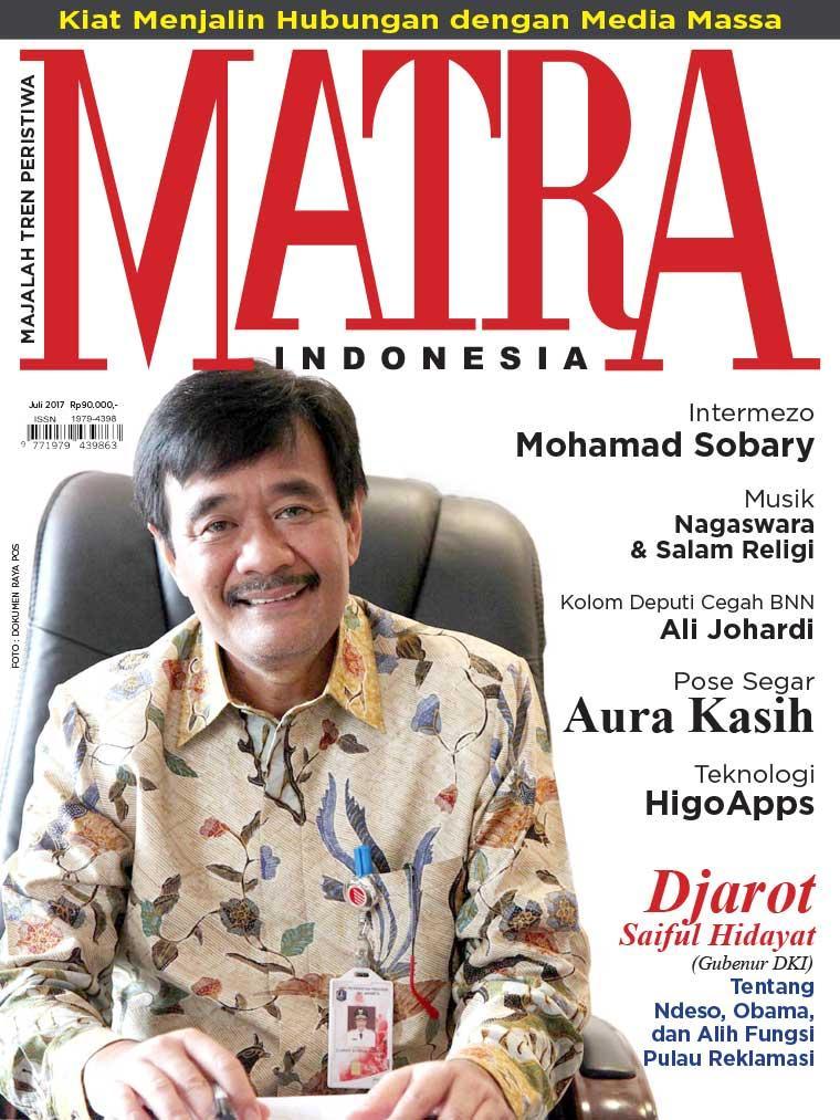 Majalah Digital MATRA INDONESIA Juli 2017