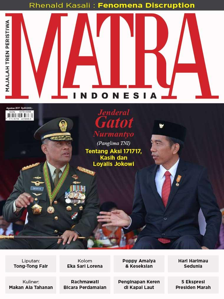 Majalah Digital MATRA INDONESIA Agustus 2017