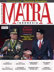 Cover Majalah MATRA INDONESIA Agustus 2017