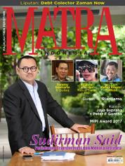 Cover Majalah MATRA INDONESIA November 2017
