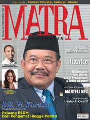 Cover Majalah MATRA INDONESIA Desember 2017
