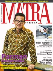 Cover Majalah MATRA INDONESIA Januari 2018