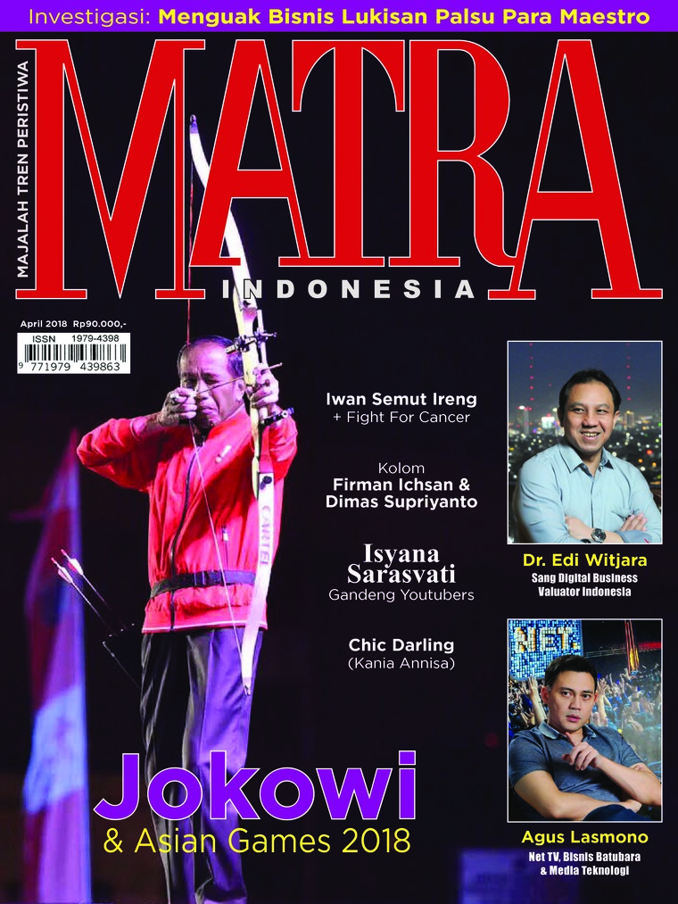 Majalah Digital MATRA INDONESIA April 2018