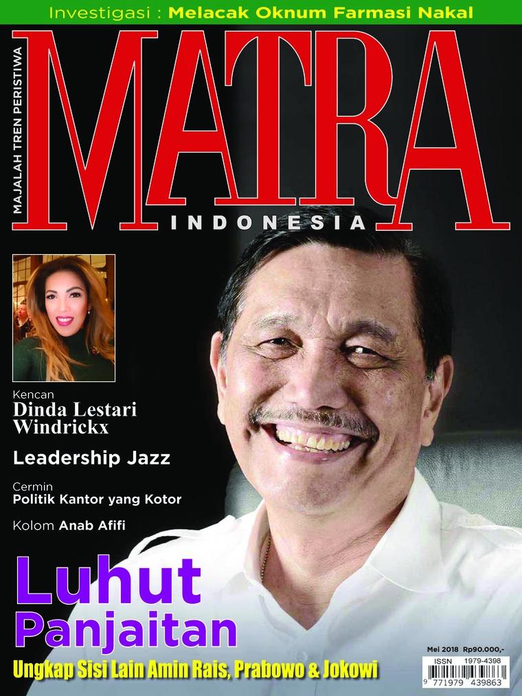 Majalah Digital MATRA INDONESIA Mei 2018