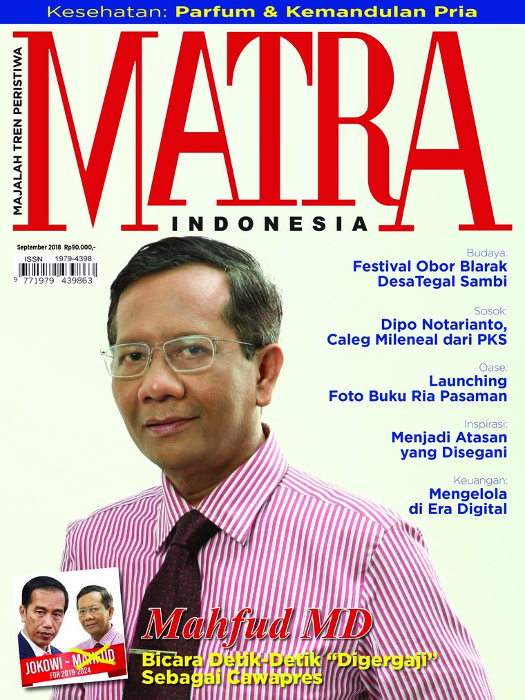 Majalah Digital MATRA INDONESIA September 2018