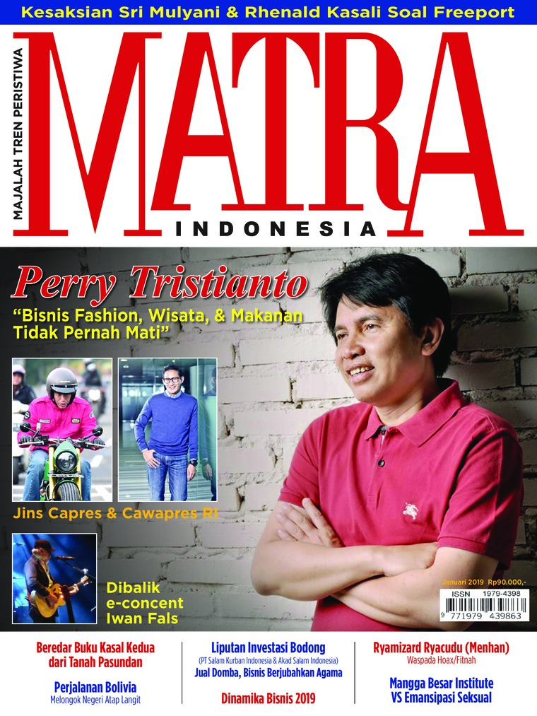 Majalah Digital MATRA INDONESIA Januari 2019