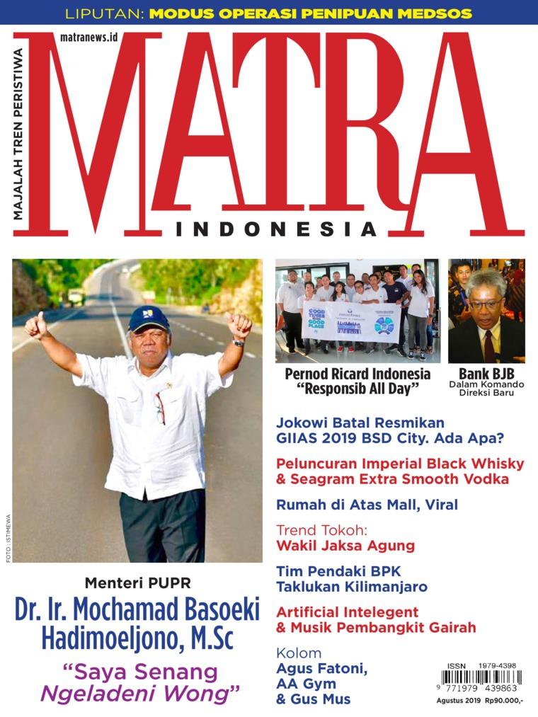 Majalah Digital MATRA INDONESIA Agustus 2019
