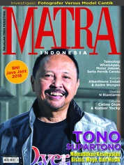 MATRA INDONESIA Magazine Cover February 2018