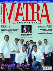 Cover Majalah MATRA INDONESIA Maret 2018