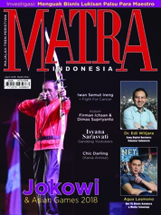 Cover Majalah MATRA INDONESIA April 2018