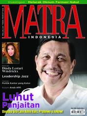 Cover Majalah MATRA INDONESIA Mei 2018