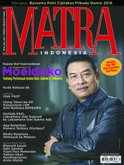MATRA INDONESIA Magazine Cover June 2018