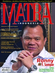 MATRA INDONESIA Magazine Cover July 2018