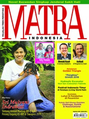 MATRA INDONESIA Magazine Cover August 2018