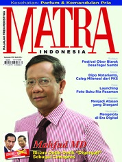 Cover Majalah MATRA INDONESIA September 2018