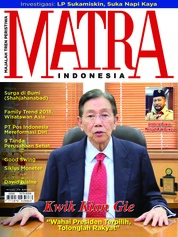 Cover Majalah MATRA INDONESIA November 2018