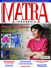Cover Majalah MATRA INDONESIA Januari 2019