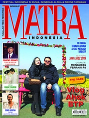 MATRA INDONESIA Magazine Cover March 2019