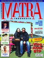 Cover Majalah MATRA INDONESIA Maret 2019