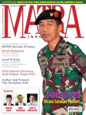 Cover Majalah MATRA INDONESIA Mei 2019