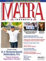 MATRA INDONESIA Magazine Cover August 2019