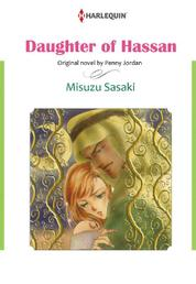 DAUGHTER OF HASSAN by Penny Jordan Cover