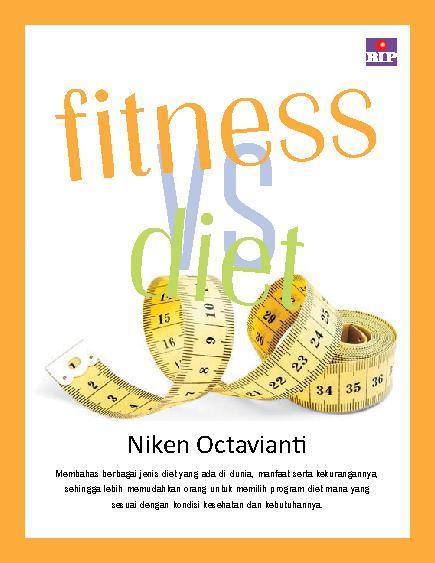 Buku Digital Fitness vs Diet oleh Niken Octavianti