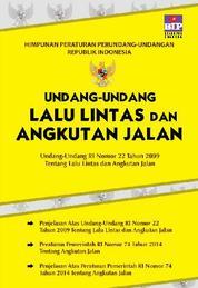 Cover Undang-Undang Tentang Lalu Lintas Dan Angkutan Jalan oleh